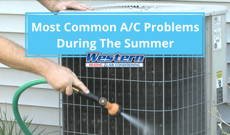 Most Common AC Problems During The Summer