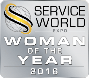 Service World Expo Woman of the Year 2016